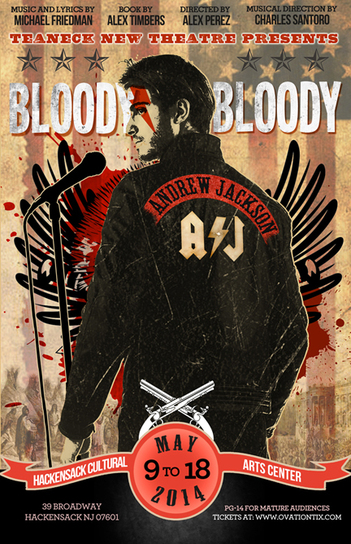 Bloody, Bloody Andrew Jackson Poster
